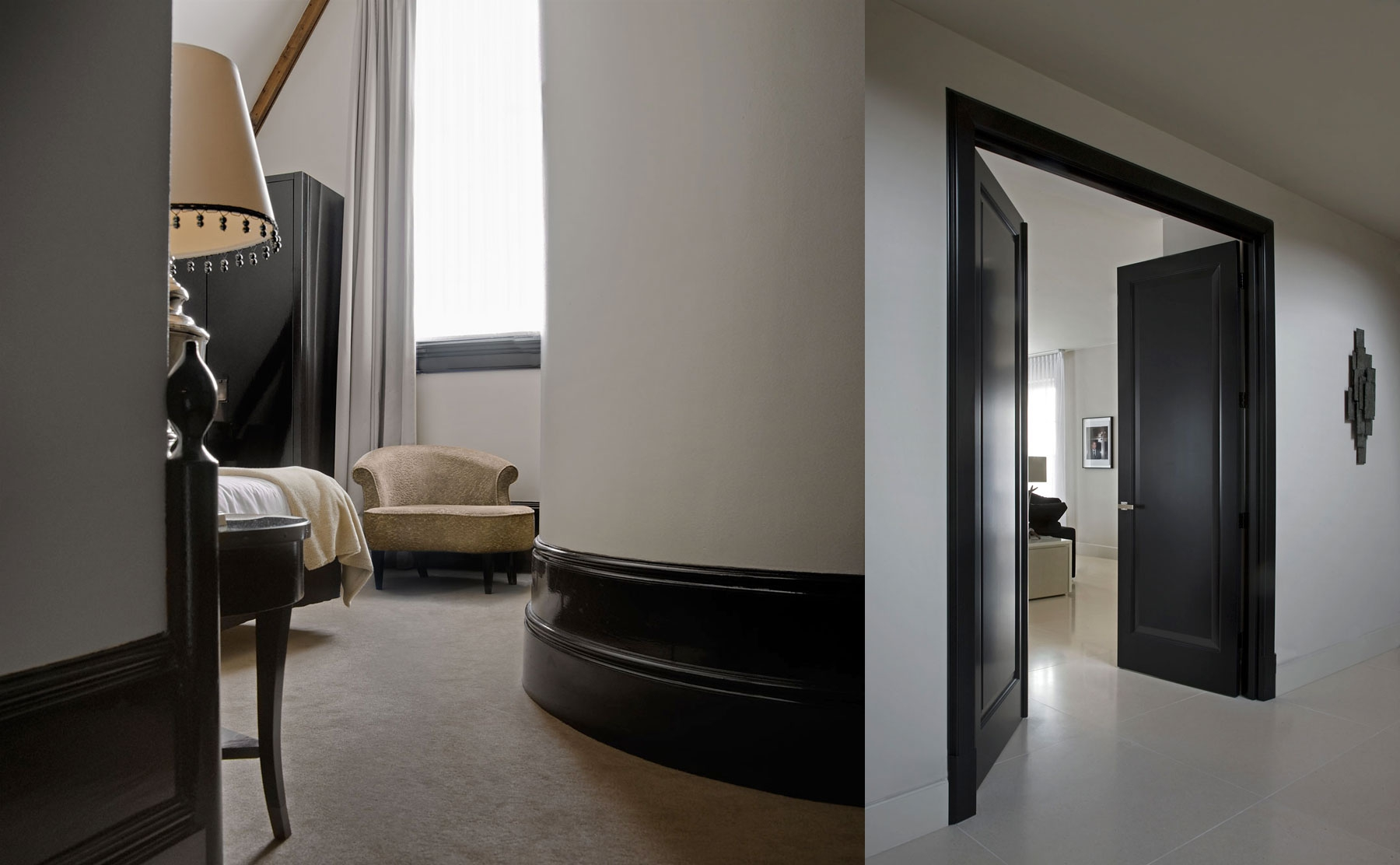tailor made, doors and doorframes, plinths by Vonder